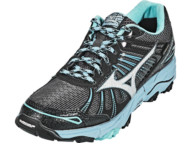 san francisco ca327 2485c Mizuno Wave Mujin 3 G-TX Running Shoes Women DarkShad Silver NorseBlu